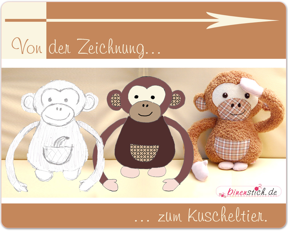 Berühmt Affe Ohren Vorlage Bilder - Beispielzusammenfassung Ideen ...