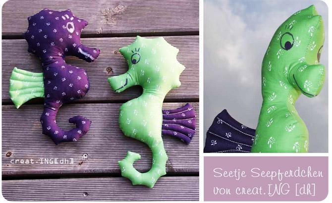 Seepferdchen nähen: dodo von Creat.ING dh für binenstich.de