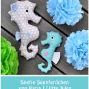 "Seepferdchen, genäht von luettejules.blogspot.de nach dem binenstich-E-Book ""Seetje Seepferdchen"" | binenstich.de"