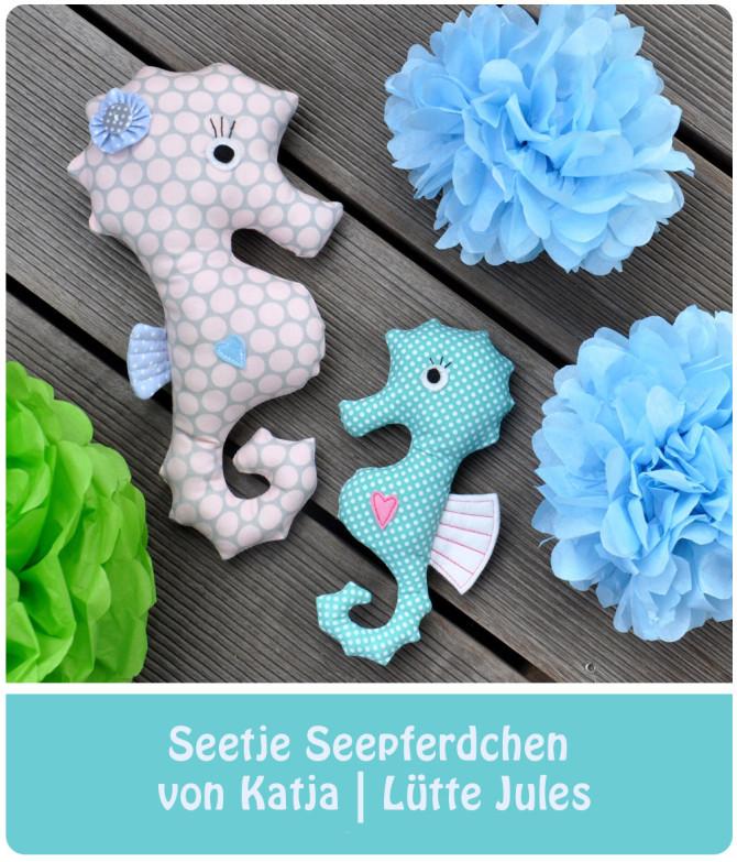 Seetje Seepferdchen, genäht von Katja