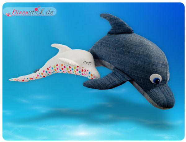Delfin nähen