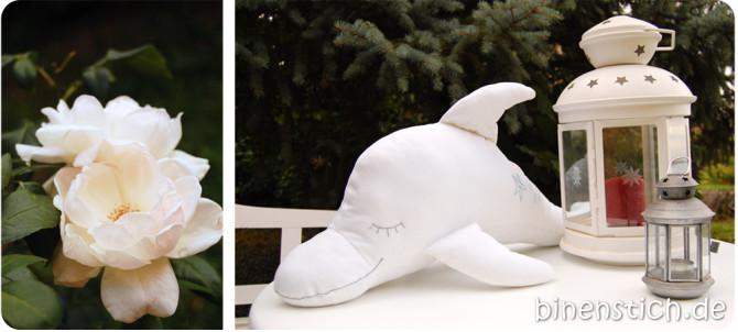 Delfin nähen: Die Riesen-Variante von Dolli Delfin | binenstich.de