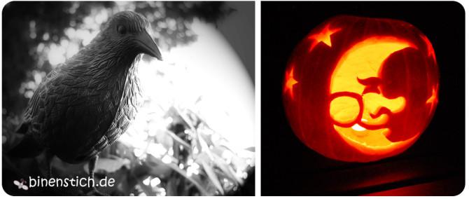 Kürbis schnitzen: Halloween-Deko 2013