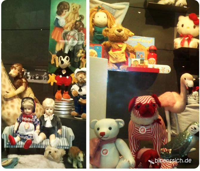 Gestern und heute im Steiff-Museum in Giengen | binenstich.de