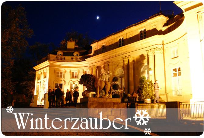 Winterzauber im Schloss Monrepos in Ludwigsburg | binenstich.de