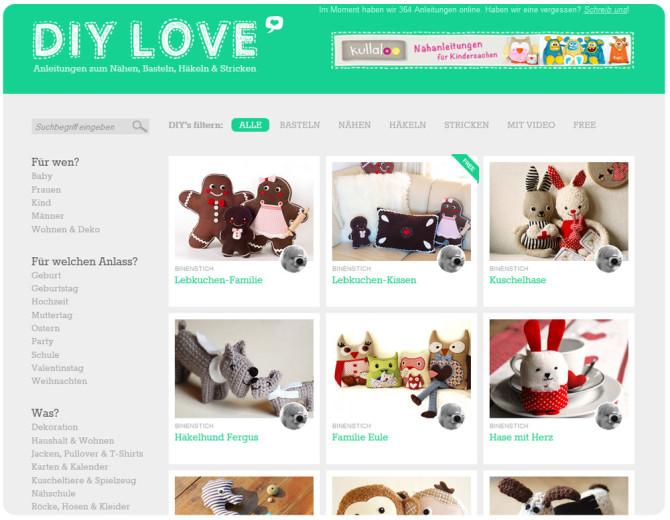 Linktipp: DIY-Love, mit Anleitungen und E-Books unter anderem auch von binenstich!