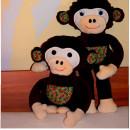 Arni Affe, genäht von Claudia nach meinem E-Book | binenstich.de