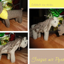 Pferdchen und Häkelhund Fergus von Heike nach meinen E-Books | binenstich.de