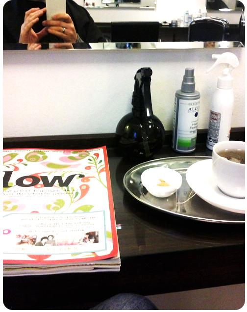 Zeit für mich: Friseur mit Flow-Magazin | binenstich.de