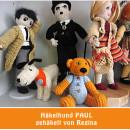 Häkelhund Paul von Häkelkünsterlin Regina nach meinem E-Book | binenstich.de