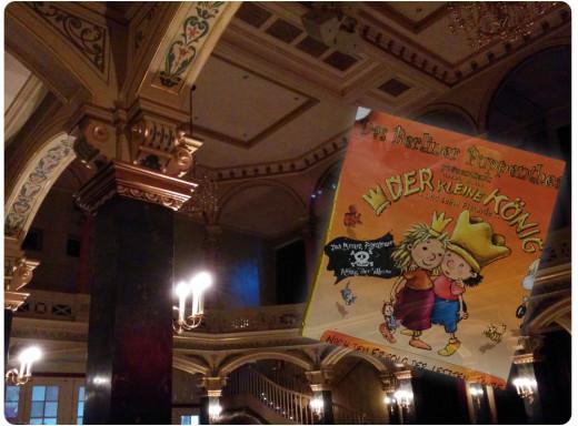 Theaterbesuch: Der kleine König, des binenkinds Liebling | binenstich.de