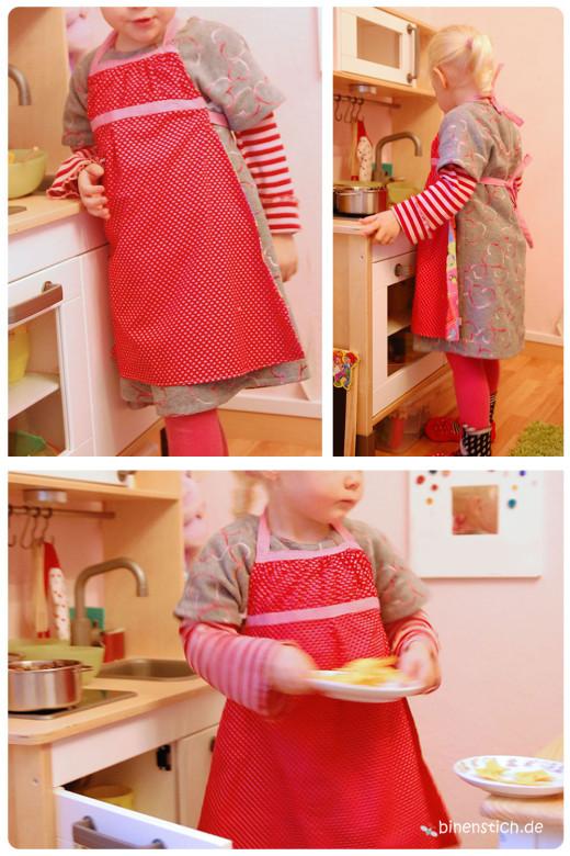 Kinderschürze: Quasi ein Mini-Emmelinchen | binenstich.de