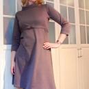 Kleid Coco, grauer Romanit (Tilly and the Buttons)   binenstich.de