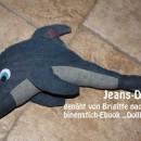 """Delfin, genäht von Brigitte, nach dem binenstich-Ebook """"Dolli Delfin"""""""