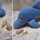 "Delfin, genäht von lianda-welt.blogspot.de nach meiner Anleitung ""Dolli Delfin"" | binenstich.de"