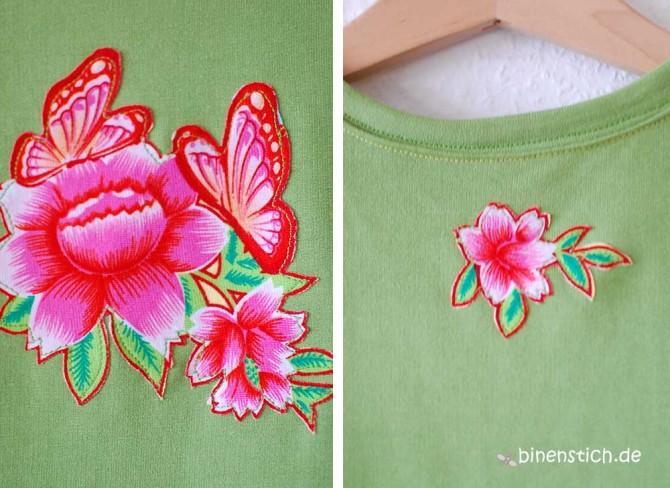 Grünes Spielkleid (Schnitt: Fannie von Schnittreif) aus Sweatshirt-Stoff | binenstich.de