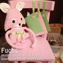 """Fuchs, genäht von Peter nach dem binenstich-Ebook """"Fips Fuchs"""""""