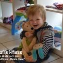 """Schnuffel-Hase, genäht von 4kids nach dem binenstich-E-Book """"Hanna & Henry Hase"""""""