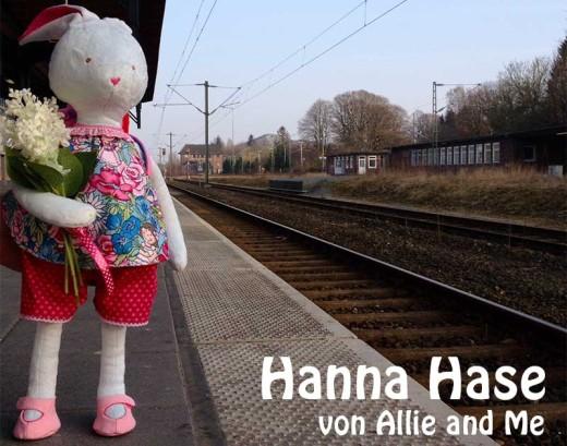 Hase nähen: Hanna Hase, genäht von Gesine von Allie & Me nach einem binenstich-E-Book