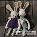 "Hanna & Henry, genäht von creating-dh.blogspot.de nach dem binenstich-E-Book ""Hanna & Henry Hase"" | binenstich.de"
