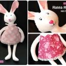 "Hanna Hase, genäht von lil-luci.blogspot.de nach dem binenstich-E-Book ""Hanna & Henry Hase"" | binenstich.de"
