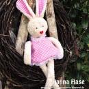 "Hanna Hase, genäht von maunzerle.blogspot.de nach dem binenstich-E-Book ""Hanna & Henry Hase"" | binenstich.de"