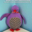 "Pelli Pinguin, genäht von Karin, schoendingesonnenblume.blogspot.de, nach dem binenstich-E-Book ""Pelli Pinguin"" | binenstich.de"