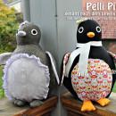 "Pelli Pinguin, genäht von Kerstin, verscrapt-nochmal.blogspot.com, nach dem binenstich-E-Book ""Pelli Pinguin"" | binenstich.de"