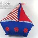 """Segelboot, genäht von Lapausa nach dem binenstich-Ebook """"Segelboot"""""""