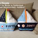 """Segelboote, genäht von Melanie, nach dem binenstich-Ebook """"Segelboot"""""""