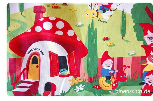 Lieblingsstoff: Gnomeville von Michael Miller | binenstich.de