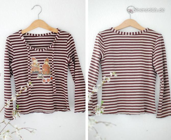 Das Wurzelkind-Shirt! Schnitt: Antonia von Farbenmix, Bügelbind: Etwas von den Wurzelkindern | binenstich.de