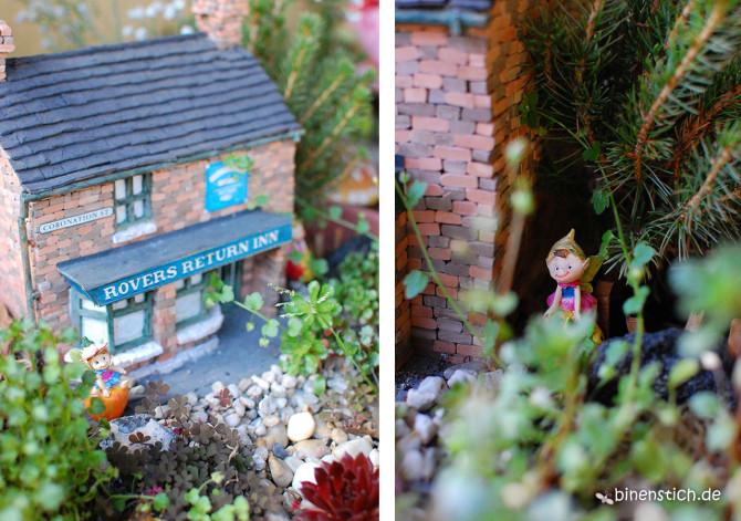 Elfengarten: Miniaturgarten mit eigenem Elfen-Pup und versteckter Elfe | binenstich.de