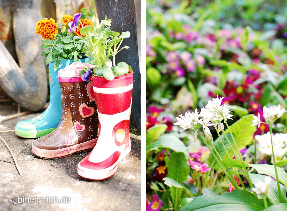 Frühlingsfreuden Gärtnern Mit Kindern Binenstich