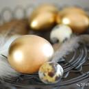 Schnelle Osterdeko: Goldene Ostern!