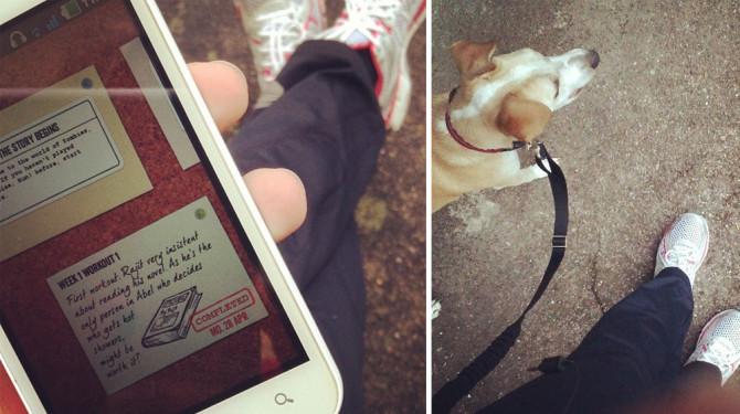 Gute Zeiten 17: Die App zu den Schuhen - Laufspaß mit Zombies, Run! | binenstich.de
