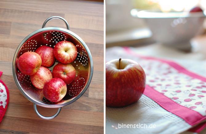 Apfel-Liebe: Neue Küchenaccessoires für die binenstich-Küche | binenstich.de