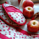 Apfel-Liebe: Neue Handtücher und Topflappen-Ofenhandschuhe für die binenstich-Küche | binenstich.de