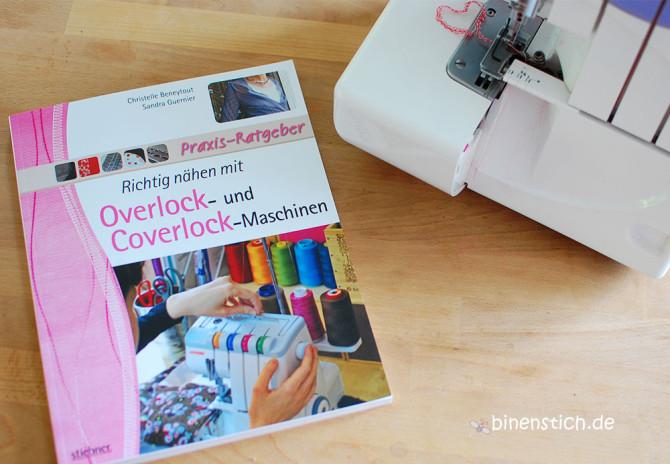 Nähen lernen mit der Overlock-Maschine: Richtig nähen mit Overlock- und Coverlock-Maschinen | binenstich.de