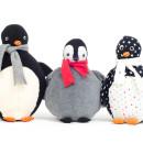 Pinguin nähen: Nähanleitung für Kuscheltier Pelli Pinguin im Shop | binenstich.de