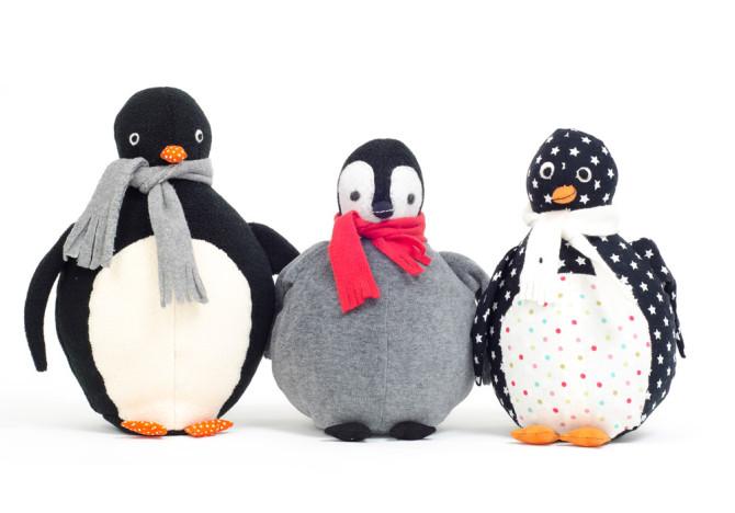 Schnittmuster Pinguin nähen