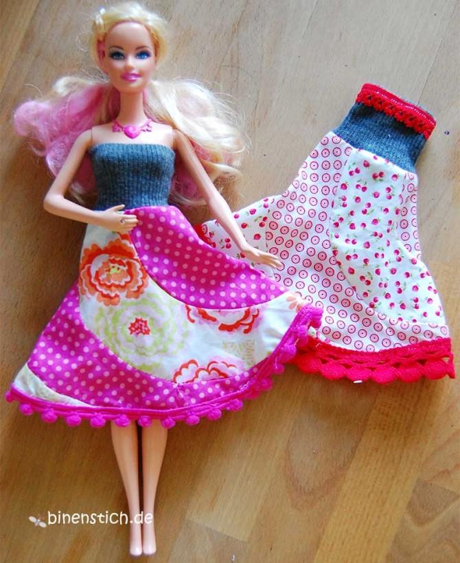 Barbiekleid nähen | binenstich.de