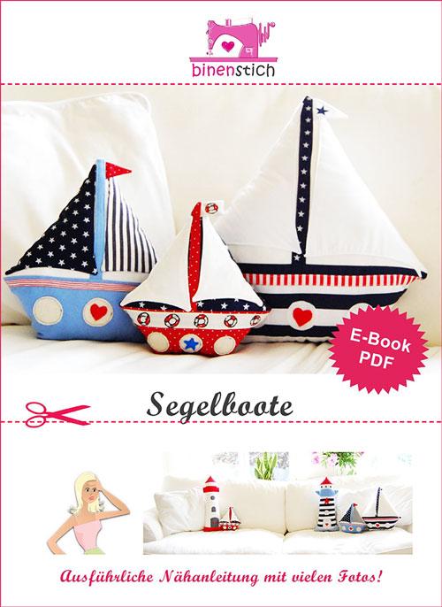 Segelboot nähen: Anleitung und Schnittmuster im Shop | binenstich.de