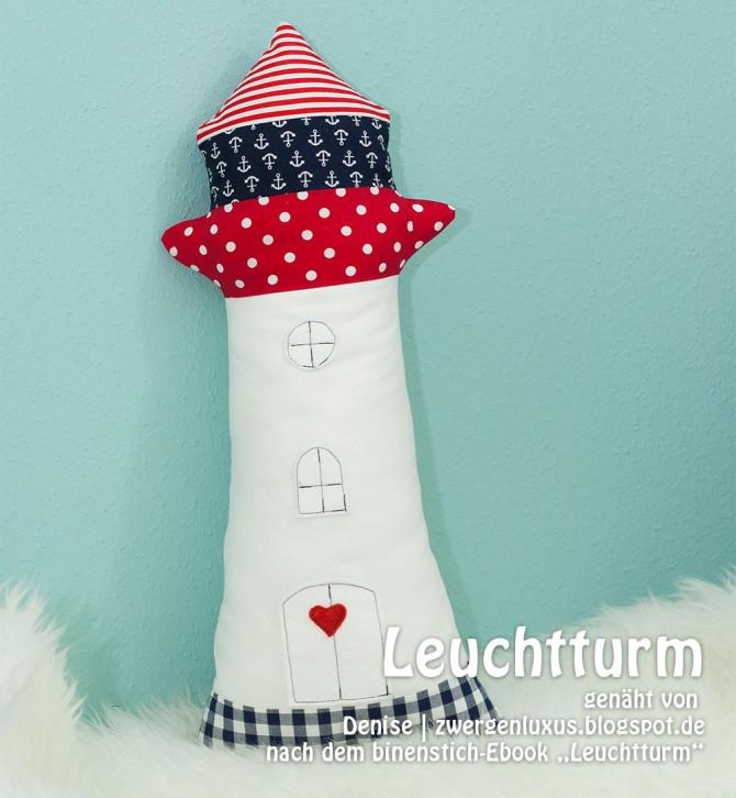 Martimer Leuchtturm, genäht von Denise | zwergenluxus.blogspot.de