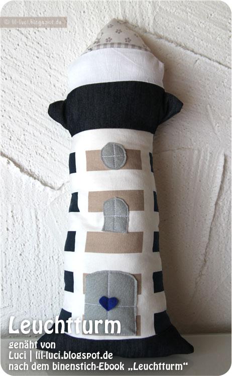 Leuchtturm, genäht von Carolin | http://lil-luci.blogspot.de/