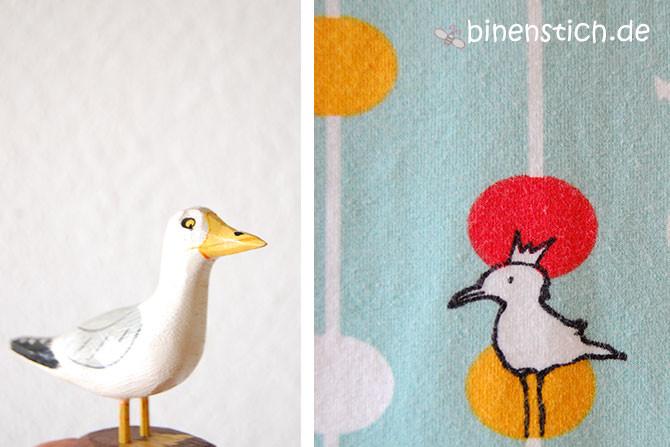 Süße Träume mit Meerbrise: Kindernachthemd | binenstich.de