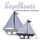 Segelboote, genäht von Rebecca | jakaster.de