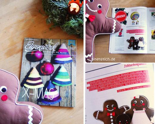 Lebkuchenfamilie im Eigenwerk-Magazin, Rubrik: Klimbim, Dez. 2013