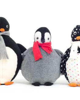 Pinguin nähen Anleitung