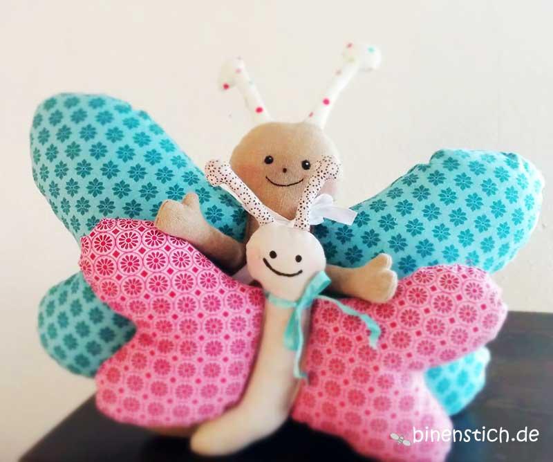 Großzügig Schmetterling Schnittmuster Fotos - Nähmuster-Ideen ...